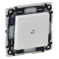 vypínač č.1 IP44 biely Legrand Valena Life 752161 s orientačným podsvietením