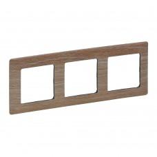 3rámik drevo svetlé Legrand Valena Life 754183