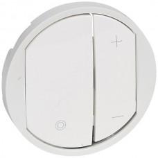 biela krytka Legrand Céliane 65083 pre tlačidlový stmievač