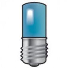 LED signálka E10 pre tlačidlové a signalizačné prístroje Niko 170-37002 modrá