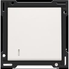 white krytka Niko original/intense 101-60005 pre podsvietený vypínač č.1. 6, 7 a tlačidlo