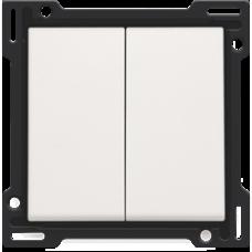 white krytka Niko original/intense 101-61505 pre vypínač č.5, 5B a dvojtlačidlo