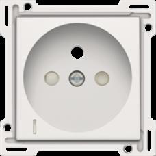 white krytka Niko original/intense 101-66607 pre zásuvku s kontrolkou