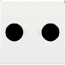 white krytka Niko original/intense 101-69702 pre TV zásuvku