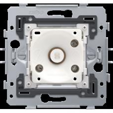 tlačidlo č.1 s jantárovou LED Niko 170-74000 spodok