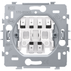 žalúziový spínač s elektrickým blokovaním kontaktov Niko 170-85905 spodok