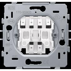 tlačidlový spínač pre elektronické ovládanie žalúzií Niko 170-95905 spodok