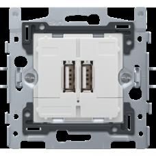 USB 2násobná zásuvka Niko 420-00500 spodok
