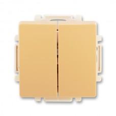 vypínač č.5 ABB Swing 3557G-A05340 D1 béžový