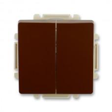 vypínač č.5 ABB Swing 3557G-A05340 H1 hnedý