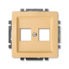 béžová krytka dátovej zásuvky priama ABB Swing 5014G-A02018 D1
