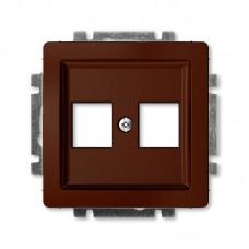 hnedá krytka dátovej zásuvky priama ABB Swing 5014G-A02018 H1
