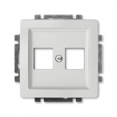 svetlošedá krytka dátovej zásuvky priama ABB Swing 5014G-A02018 S1