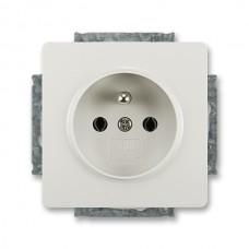 zásuvka ABB Swing 5518G-A02349 S1 svetlo šedá