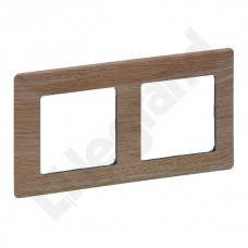 2rámik drevo svetlé Legrand Valena Life 754182