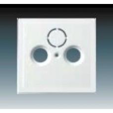 machová biela krytka ABB Future linear 1724-0-4293 pre SAT a TV zásuvky