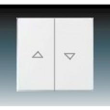 studio biela krytka ABB Future linear 1751-0-2756 pre žalúziové ovládače