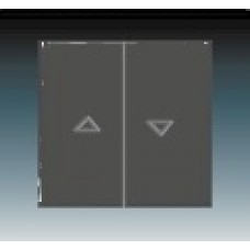 antracitová krytka ABB Future linear 1751-0-2934 pre žalúziové ovládače
