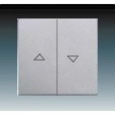 hliníková strieborná krytka kovová ABB Future linear 1751-0-2944 pre žalúziové ovládače