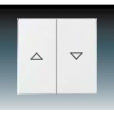 machová biela krytka ABB Future linear 1751-0-3022 pre žalúziové ovládače