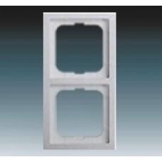 2rámik hliníkový strieborný ABB Future linear 1754-0-4302