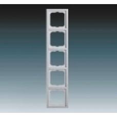 5rámik hliníkový strieborný ABB Future linear 1754-0-4310