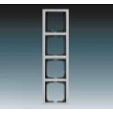 4rámik ušľachtilá oceľ ABB Future linear 1754-0-4320 kovový