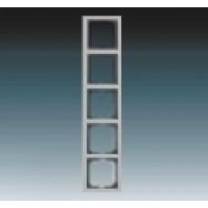 5rámik ušľachtilá oceľ ABB Future linear 1754-0-4321 kovový
