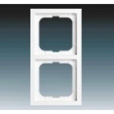 2rámik machová biela ABB Future linear 1754-0-4415