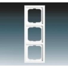3rámik hliníkový strieborný ABB Future linear 1754-0-4308