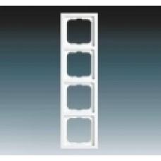 4rámik hliníkový strieborný ABB Future linear 1754-0-4309