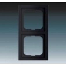 2rámik machová čierna ABB Future linear 1754-0-4420