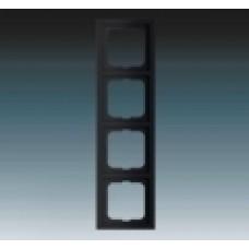 4rámik machová čierna ABB Future linear 1754-0-4422