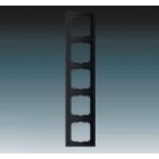 5rámik machová čierna ABB Future linear 1754-0-4423