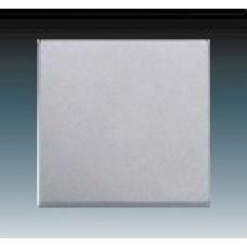 hliníková strieborná krytka kovová ABB Future linear 3559B-A0065183 pre vypínače č. 1, 6, 7 a tlačidlo
