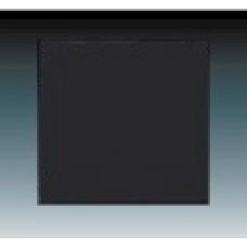machová čierna krytka ABB Future linear 3559B-A00651885 pre vypínače č. 1, 6, 7 a tlačidlo