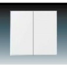 studio biela krytka ABB Future linear 3559B-A0065284 pre vypínače č. 5 a 5b