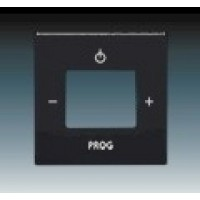 machová čierna krytka ABB Future linear 8200-0-0125 pre FM tuner