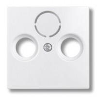 kryt SAT zásuvky ABB Basic55 1724-0-4283 biely