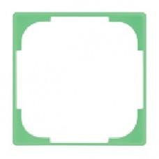 dekoratívny medzirámik ABB Basic55 1726-0-0224 svetlozelený