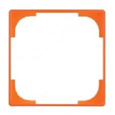 dekoratívny medzirámik ABB Basic55 1726-0-0225 oranžový