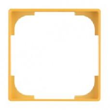dekoratívny medzirámik ABB Basic55 1726-0-0226 žltý