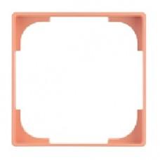 dekoratívny medzirámik ABB Basic55 1726-0-0227 ružový