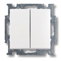 vypínač č.5 ABB Basic55 3521B-A0534594 biely
