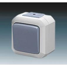 vypínač č.1 IP54 modrý ABB Variant+ 3558N-C01510 M na povrch