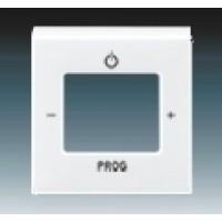 biela krytka ABB Levit 3299H-A40200 03 pre FM tuner a internetové rádio