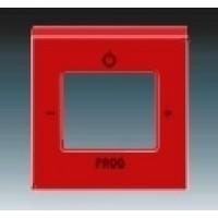 červená krytka ABB Levit 3299H-A40200 65 pre FM tuner a internetové rádio