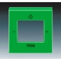 zelená krytka ABB Levit 3299H-A40200 67 pre FM tuner a internetové rádio
