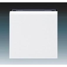 biela/dymová čierna krytka ABB Levit 3559H-A00651 62 pre vypínače č.1,6,7 a tlačidlo