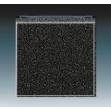 onyx/dymová čierna krytka ABB Levit 3559H-A00651 63 pre vypínače č.1,6,7 a tlačidlo